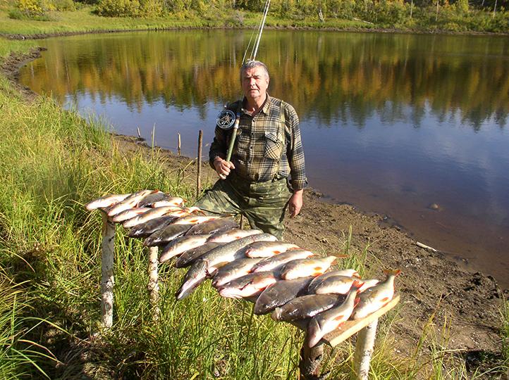 рыбалка в районе топозера