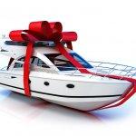 Лодка или катер в подарок