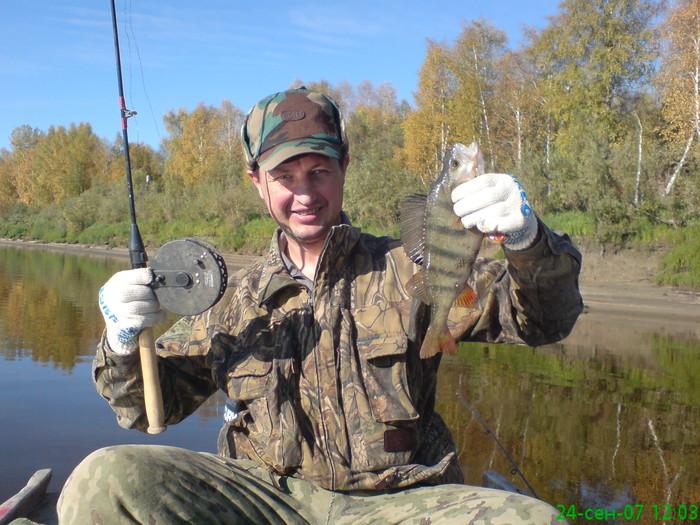рыбалка север томской