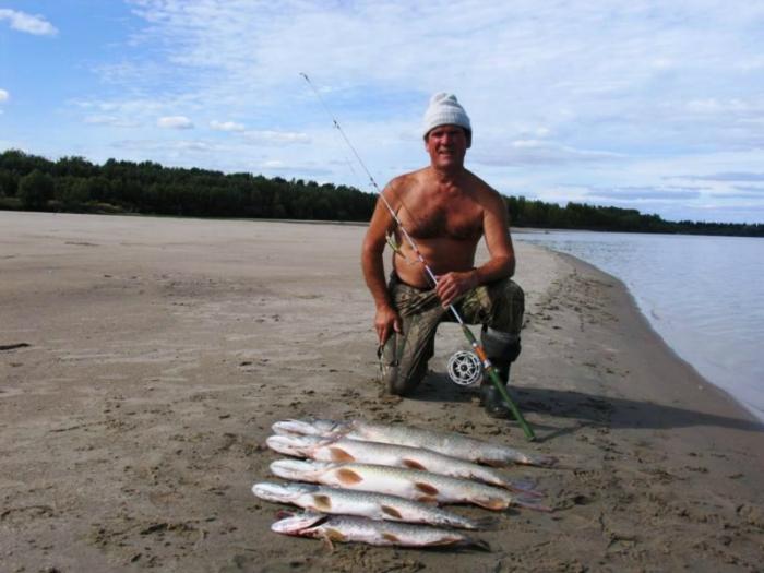 ходить на рыбалку