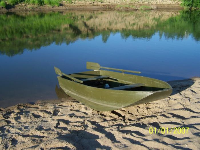 своими руками лодка для рыбалки