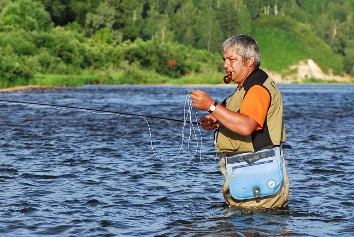 Как ловят рыбу на алтае