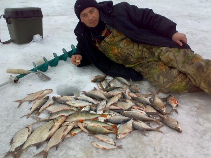 рыбалка в нсо водохранилище