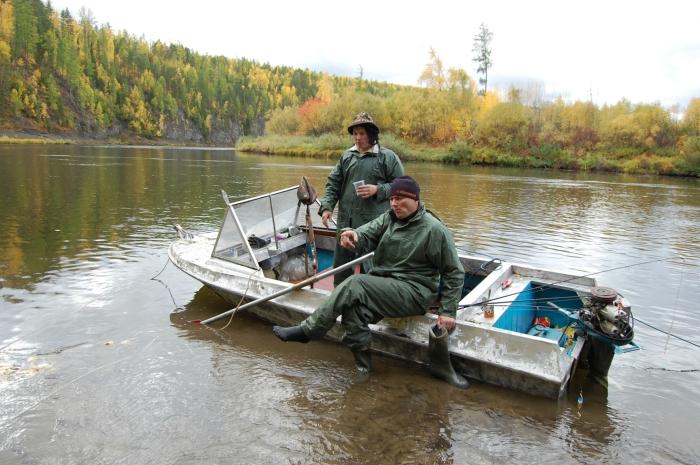 рыбная ловля в гарнизоне