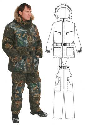 как сшить куртку для рыбалки