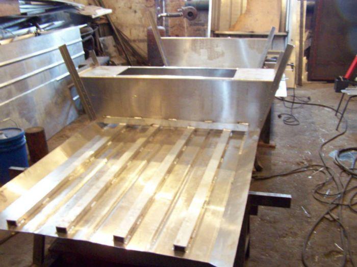 как сделать самодельную алюминиевую лодку