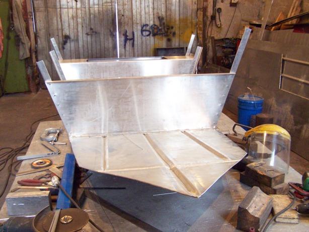 Как своими руками сделать лодку из алюминия