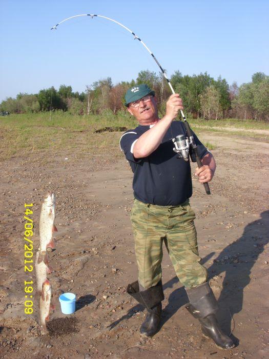 рыбалка приток северной сосьвы