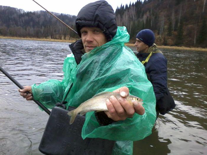 ловля рыбы весной на томи
