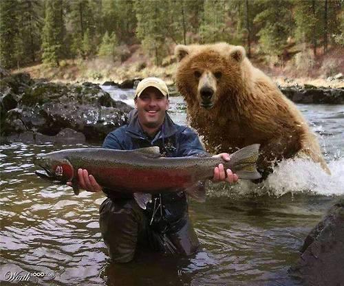 рыбалка в неожиданных местах