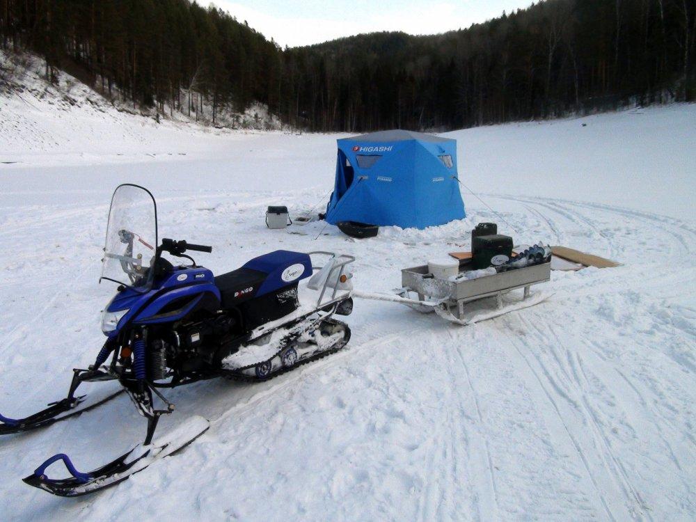 снегоход для рыбалки форум