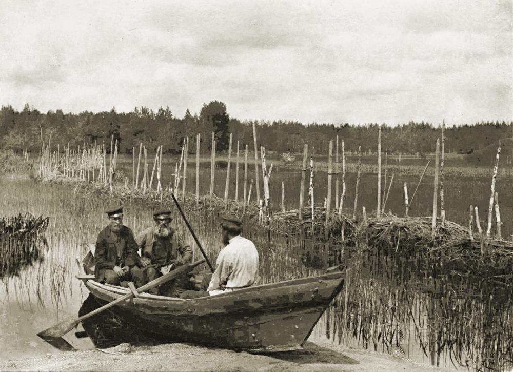 рыбная ловля в xix веке