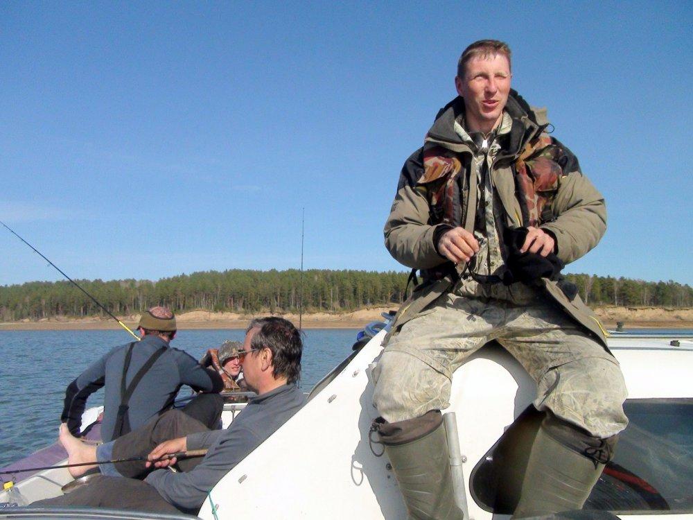 Места рыбалки в красноярском крае