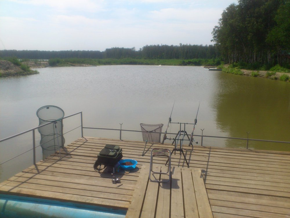 пруд для рыбалки обустройство