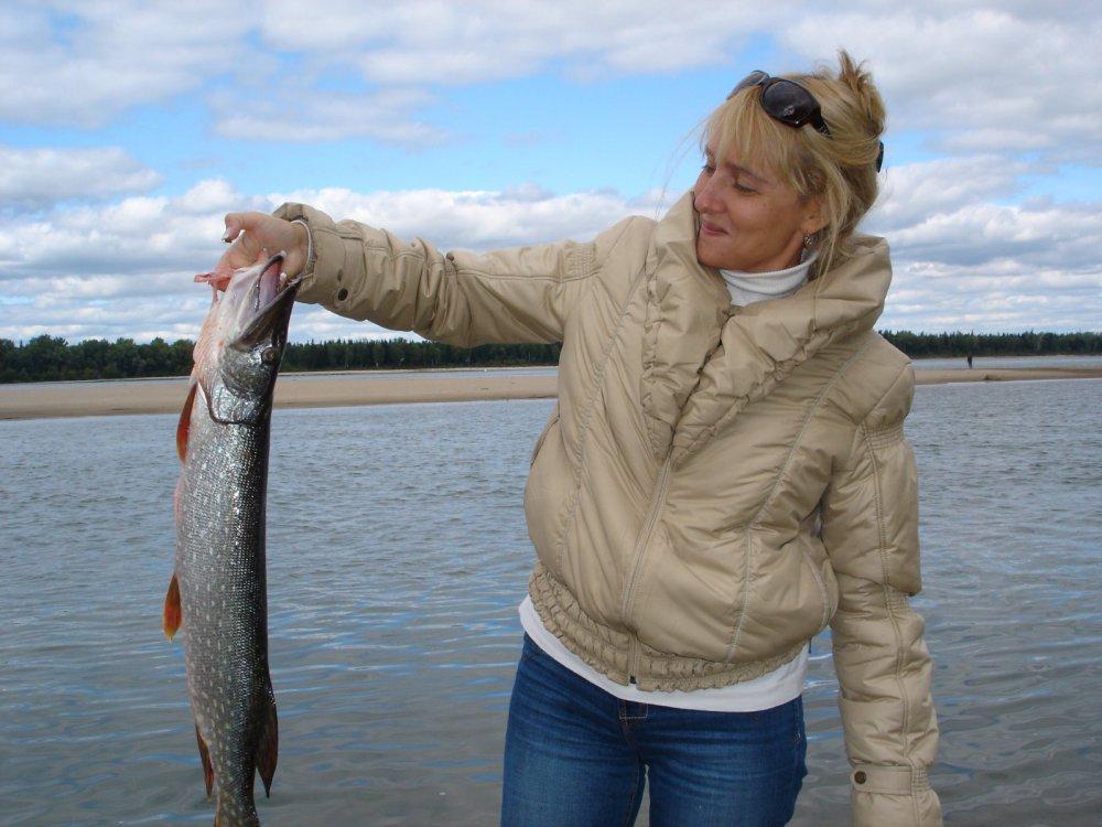 рыбалка остью