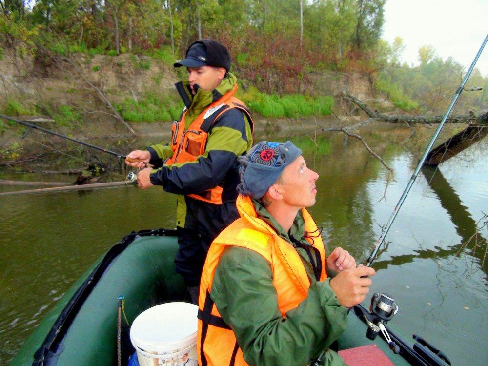 рыбалка около красноярска