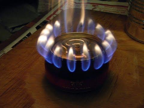 Газовый примус своими руками видео