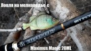 Ловля на мелководье с Maximus Manic 20 ML