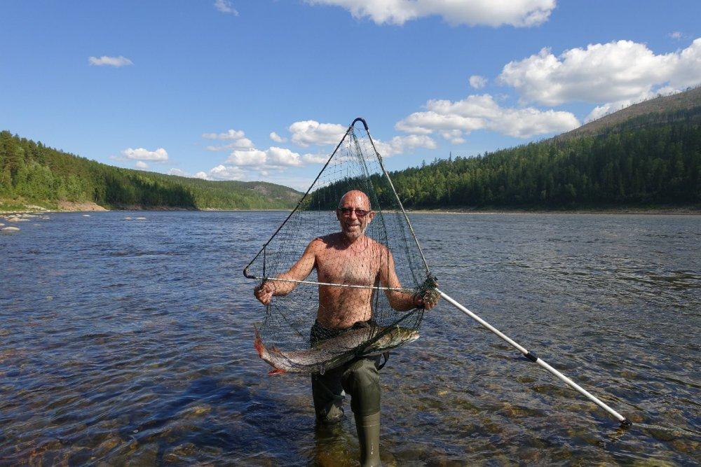 рыбалка на большой речке