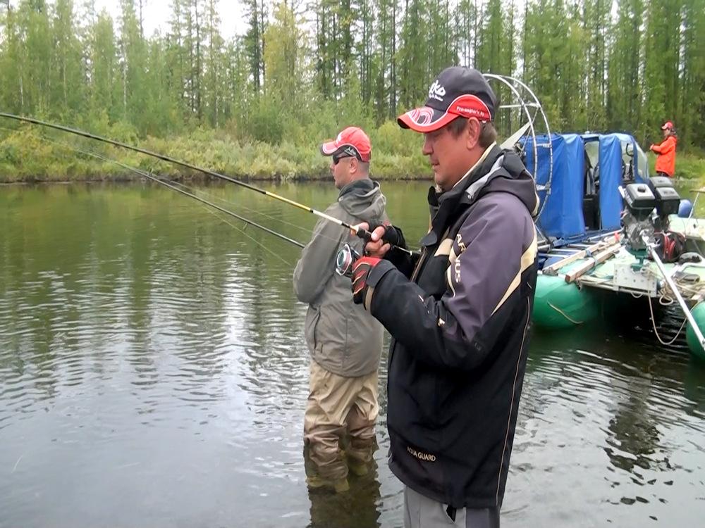 рыбалка с гриней