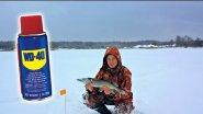 Ловля щуки на WD-40, Рыбалка на щуку с жерлицами / Fishing with WD-40
