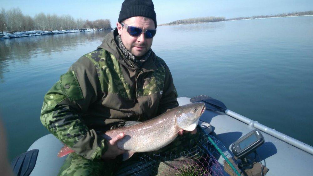 рыбалка в апреле на томи