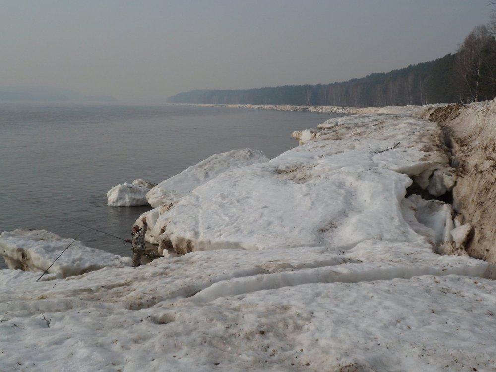 лед на Енисее