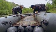 Пробили тоннельную лодку СТРИЖ 420, быстрая замена транца