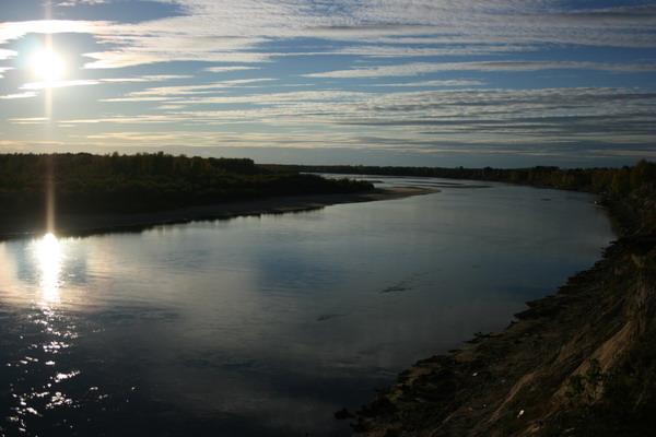 Река Улу-Юл Томская обл