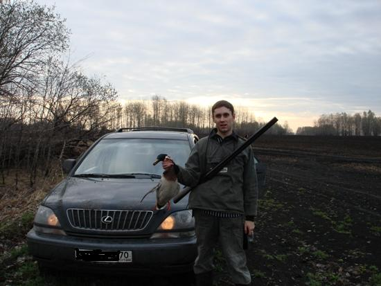 """""""По весне"""" - первый крякаш 2007 года. Владелец авто пожелал остаться инкогнито..."""