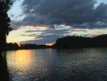 Закат на Чарыше