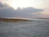 Озеро Чаны. Апрель 2008 года. Чиняихинский плес.