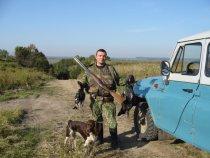 Пора домой, а завтра на охоту. Осень 2006 Гдето под Тобольском.