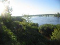 Утро на реке Чулым