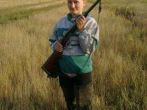 Жена охотника, по неволе охотница