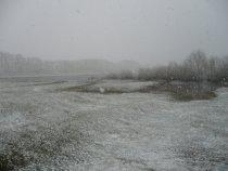 Открытие весенней охоты на утку, больше похоже на открытие зимней.