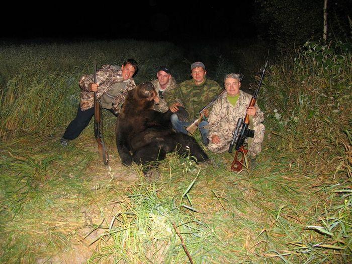 Охота на медведя удалась... Томская область, 15.08.2008