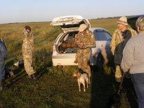 Бригада участников испытаний в Сухобузимском районе.