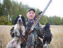 Работа в паре.... Два бродяги:  Собак и стрелок...