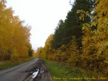 Осенний пейзаж. После дождливых дней...