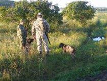 это фото нашел у вас в форуме , а тут мы с собакой на первых испытаниях и наша мамка с хозяином!