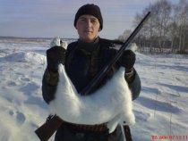 Ох и тяжелый заяц!