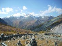 Перевал Кара-Тюрек, Алтай... Сюда мы от медведей сбегали...