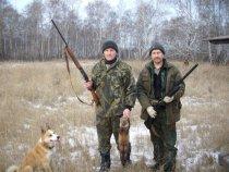 Конечно с МР куниц не стреляют, но по другому лайку с места не сдвинуть было, пришлось стрелять!