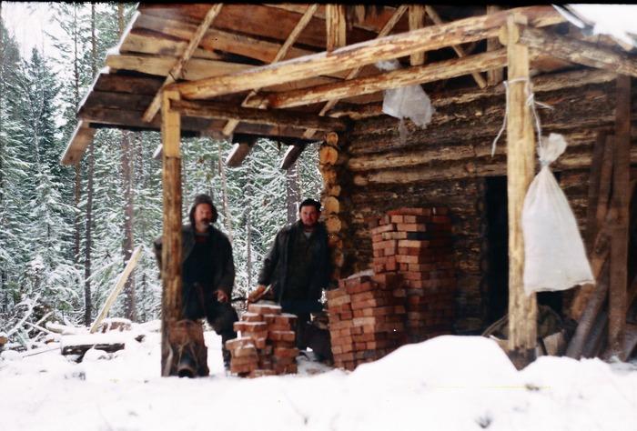 строительство нового зимовья