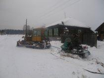 Экономический режим езды на снегоходе!
