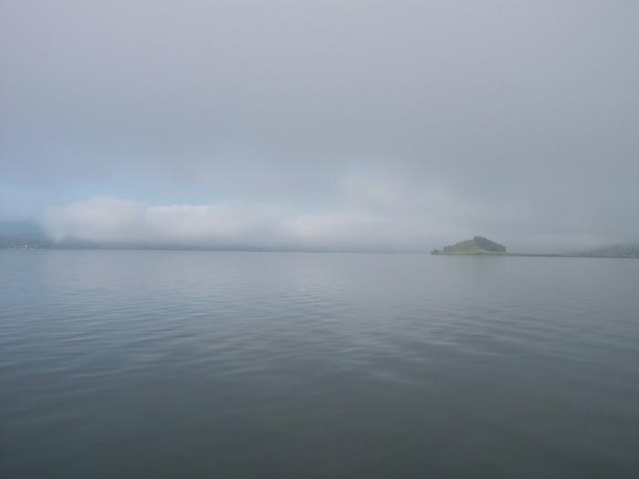 Утро на озере Парное.