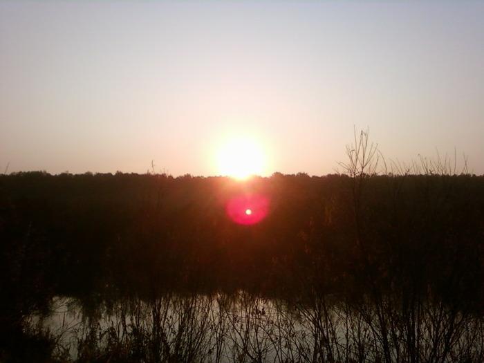 закат над Иней