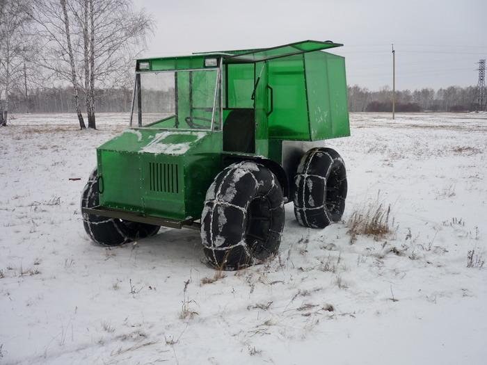 Снегоболотоход из Омска