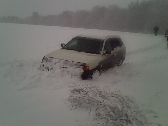 ADский авто,бампер вместо ковша)))